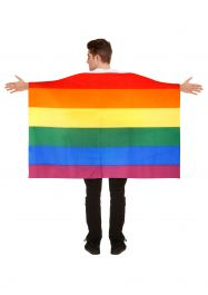 Rainbow Flag Cape