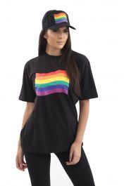 Rainbow Rainbow Hat