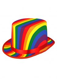 Rainbow Topper Hat