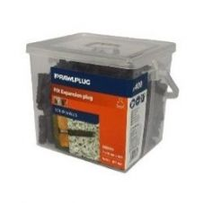 Rawlplug Nylon Expansion Plug - BROWN