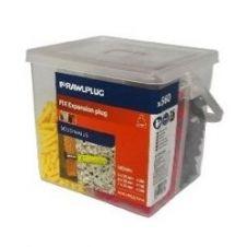 Rawlplug Nylon Expansion Plug - MIXED
