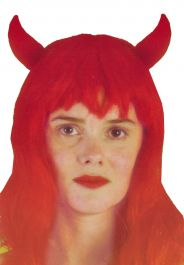 Halloween Red Devil Wig