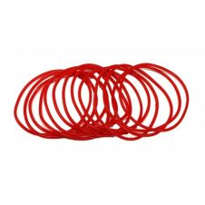 Red Gummy Bangles (pack of 12)