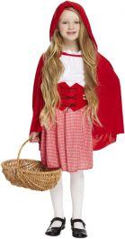 Child Red Hood Girl Costume