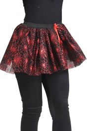 4 Layer Red Spider Skirt