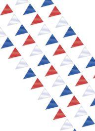 Red White Blue Flag Bunting Banner 10M-32Ft