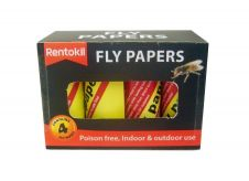 Rentokil Fly Papers - Four Pack
