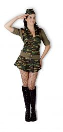 Reporting For Duty Adult Costume