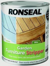 Ronseal Garden Furniture Stripper 750ml - Clear