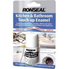 Ronseal Kitchen & Bathroom Touch-Up Enamel - 10ml