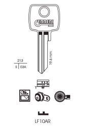 RST Lowe & Fletcher Cylinder Key Blank - Pack 10