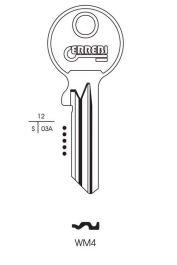 RST Wms Cylinder Key Blank - Pack 10