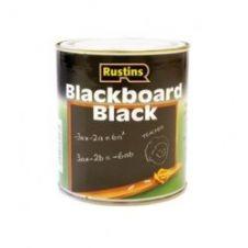 Rustins Quick Dry Blackboard Black - 250ml