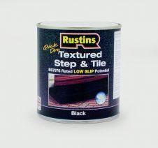 Rustins Textured Step & Tile 500ml - Black