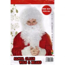 Santa Clause Wig and Beard Set