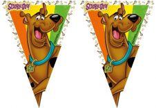 Scooby Doo Plastic Flag Banner