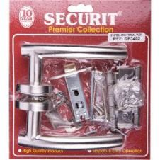 Securit Arc Latch Door Pack - Stainless Steel