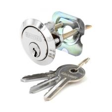 Securit Chrome Plated Spare Cylinder with 3 Keys - Universal