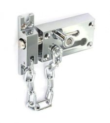 Securit Door Chain & Bolt - CP 80mm