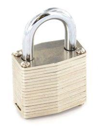 Securit Laminated Padlock Brass Cylinder - 50mm