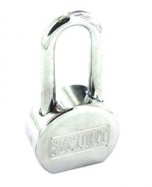 Securit Security Padlock Long Shackle - CP 65mm