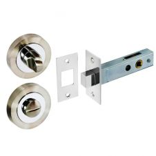 Securit Thumbturn With Deadbolt - 50mm SN/CP