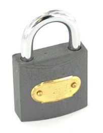 Securit Tricircle Iron Padlock Brass Cylinder - 38mm