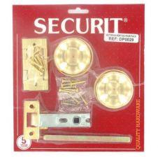 Securit Victorian Mortice Knob Pack