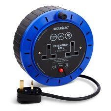 Securlec Extension Reel - 10 Amp 5m 2 Socket