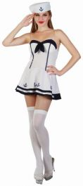 Sexy Sailor Adult Costume / Navy Sweet Heart