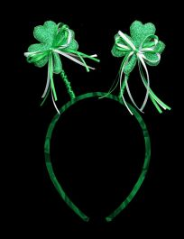 Shamrock Glitter Head Boppers