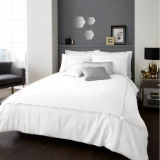 SIGNATURE DUVET SET AURA WHITE