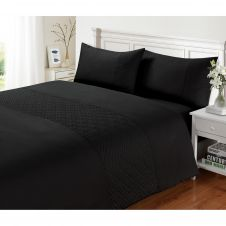 SIGNATURE DUVET SET PIN SONIC BLACK
