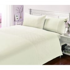 SIGNATURE DUVET SET PIN SONIC CREAM