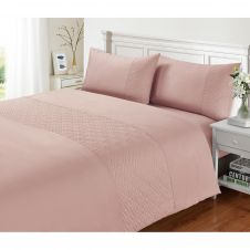 SIGNATURE DUVET SET PIN SONIC PINK