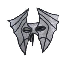 Silver Bat Masquerade Mask