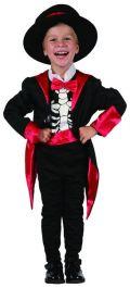 Skeleon Ringmaster Toddler Costume