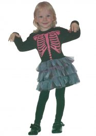 Skeleton Girl Toddler