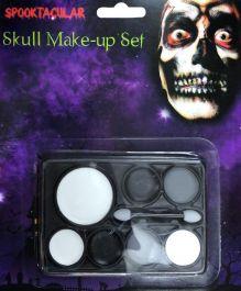 Skull Make Up Set