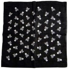 Small Skull & Cross-bone Bandana (1 Dozen)
