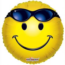 Smiley with Glasses Balloon (18inch)