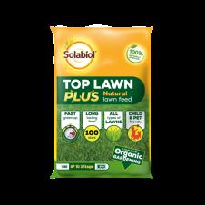 Solabiol Top Lawn Plus Natural Lawn Feed - 15kg 375sqm