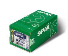 Spax Flat Countersunk VP5 200 Pack - 5x100