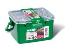 Spax Wirox Decking Screw 250 Pack - 4.5x60