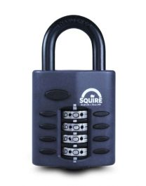 Squire Recodeable Heavy Duty Combination Padlock - 40mm