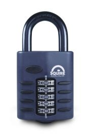 Squire Recodeable Heavy Duty Combination Padlock - 60mm