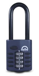 Squire Recodeable Heavy Duty Combination Padlock - Long Shackle - 50mm
