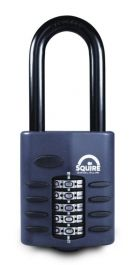 Squire Recodeable Heavy Duty Combination Padlock - Long Shackle - 60mm