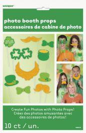 ST Patrick's Photo Props (Pack of 10)