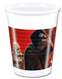 Star Wars VII 200ml Plastic Cups (Pack of 8)